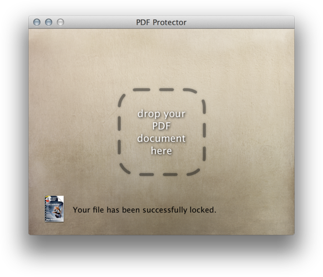 PDF Protector Screenshot
