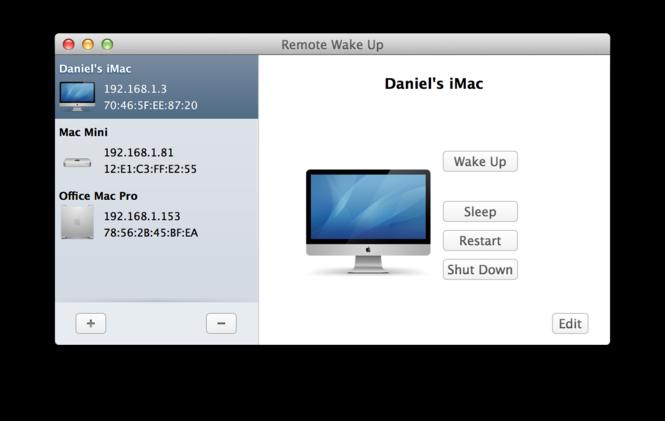 Remote Wake Up Screenshot 1
