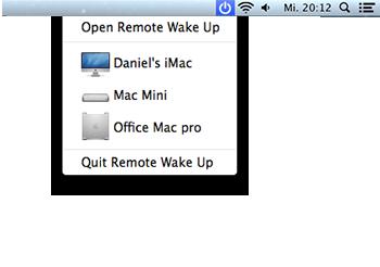 Remote Wake Up Screenshot 2