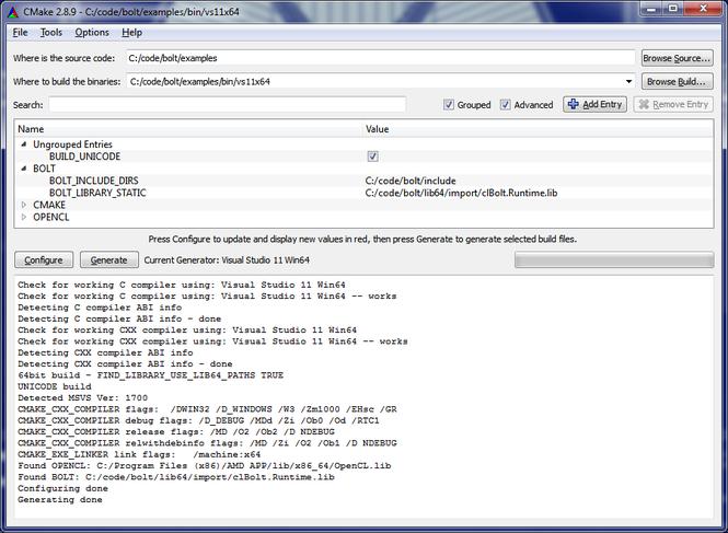 CMake Screenshot 1
