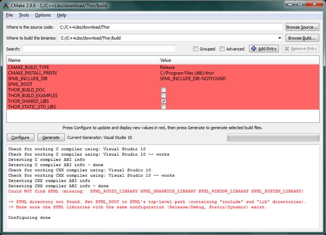 CMake Screenshot 2