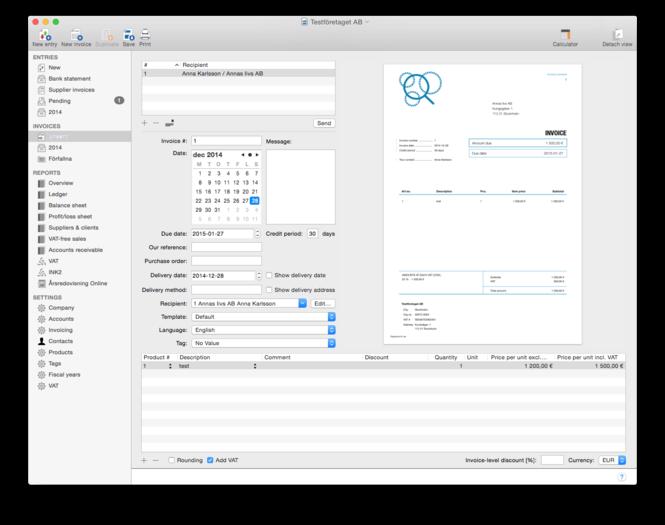 Economacs Screenshot 2