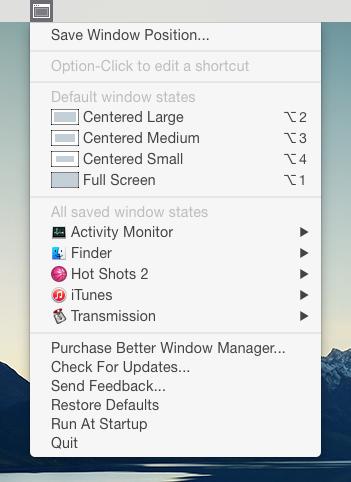 Better Windows Manager Screenshot 2