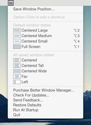 Better Windows Manager Screenshot 3