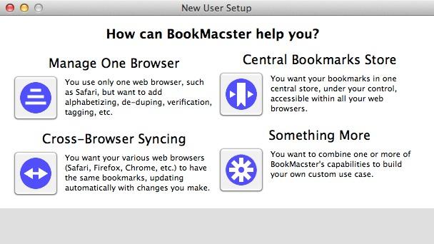 BookMacster Screenshot