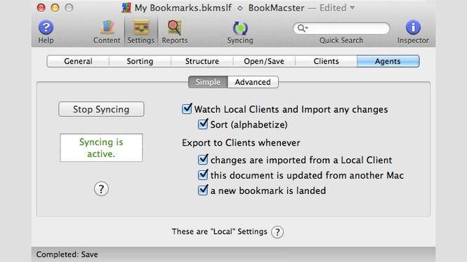 BookMacster Screenshot 2