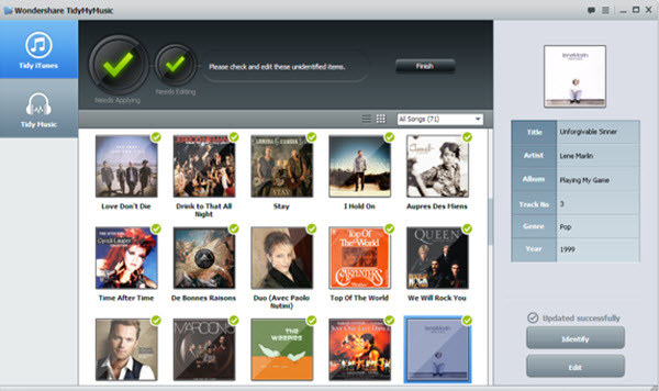 TidyMyMusic Screenshot