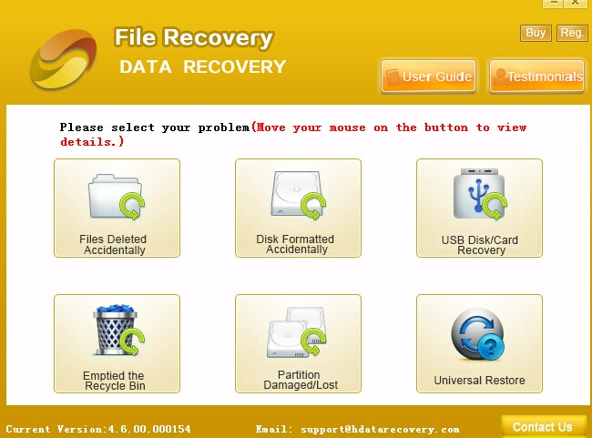 Photo Recovery Software Free Download Screenshot