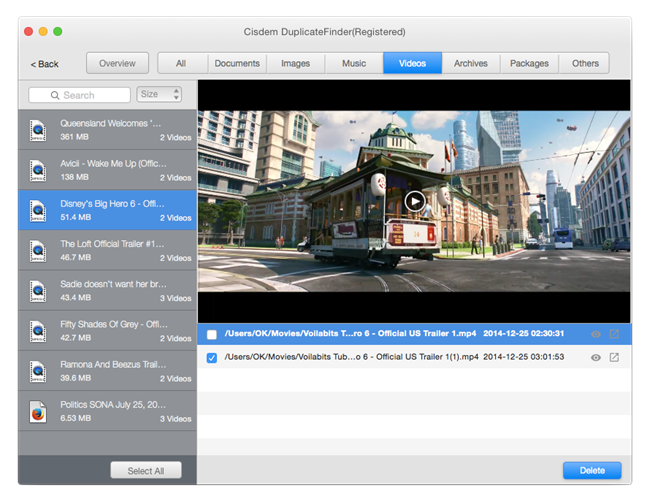 Cisdem DuplicateFinder for Mac Screenshot 4