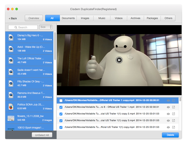 Cisdem DuplicateFinder for Mac Screenshot