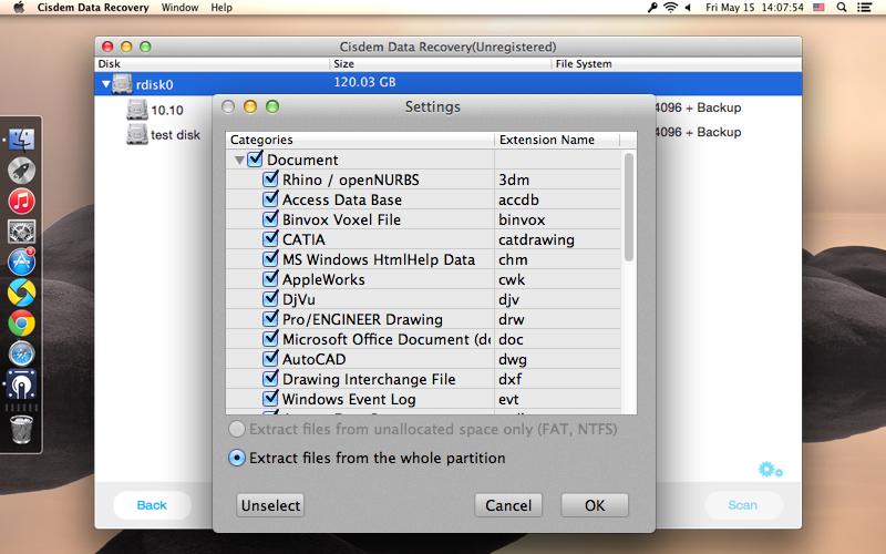 Cisdem DataRecovery for Mac Screenshot 6