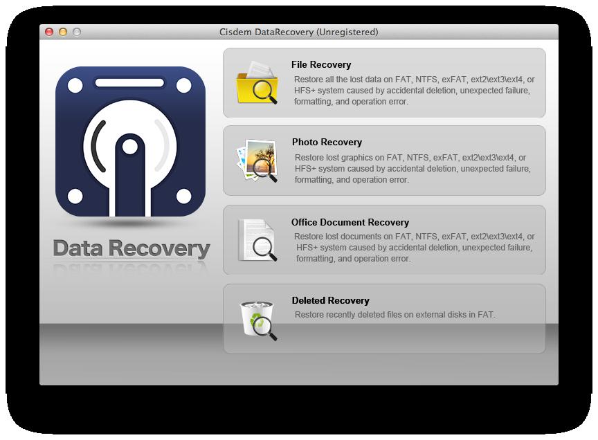 Cisdem DataRecovery for Mac Screenshot 3