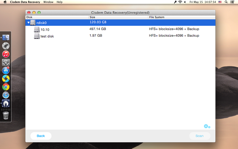Cisdem DataRecovery for Mac Screenshot 8
