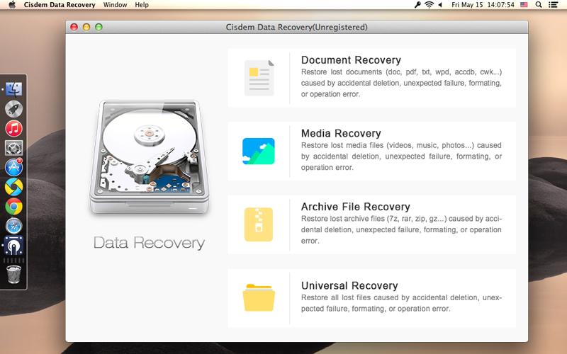 Cisdem DataRecovery for Mac Screenshot 9