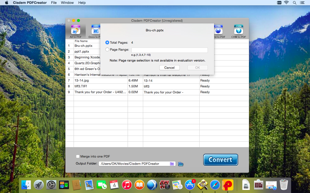 Cisdem PDFCreator for Mac Screenshot 3