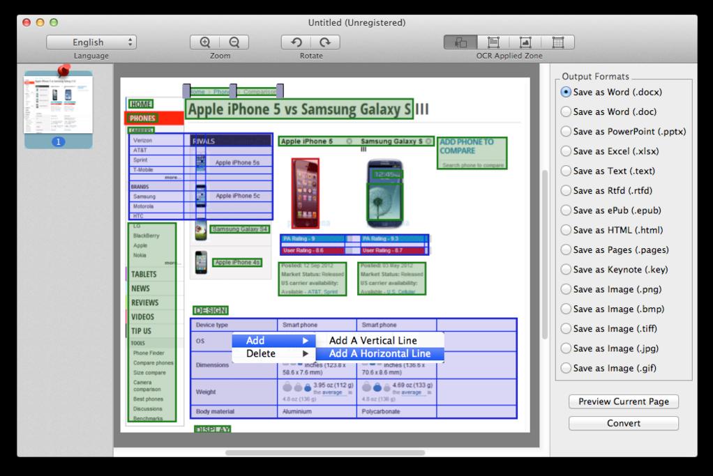 Cisdem PDFConverterOCR for Mac Screenshot 3