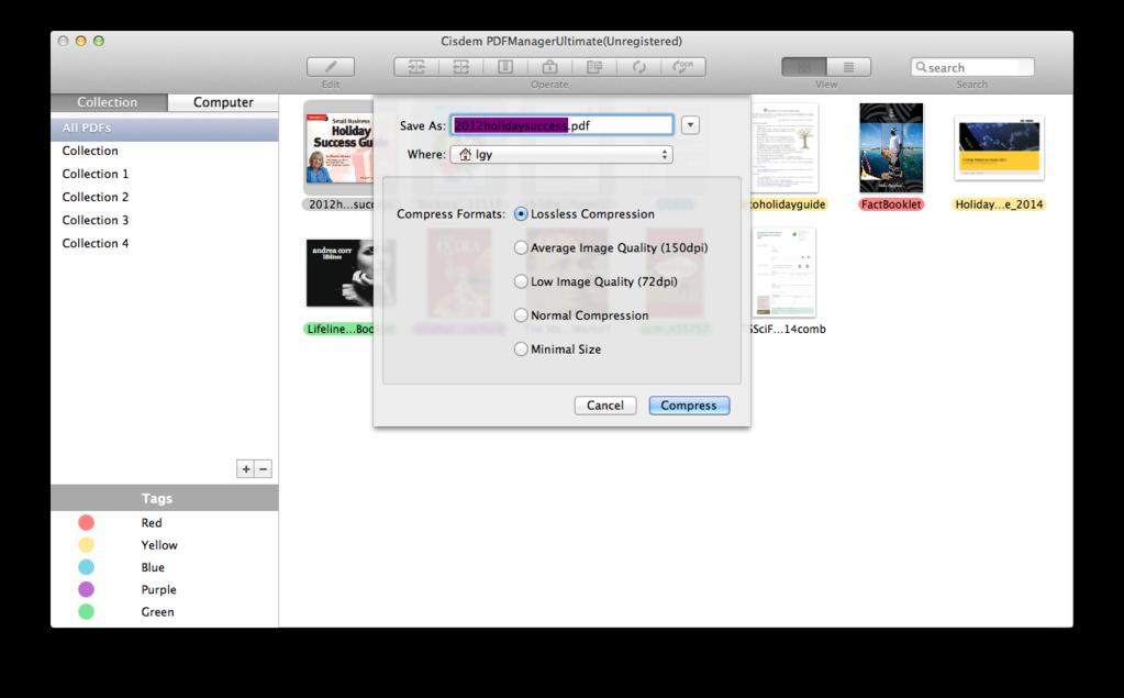 Cisdem PDFManagerUltimate for Mac Screenshot 2