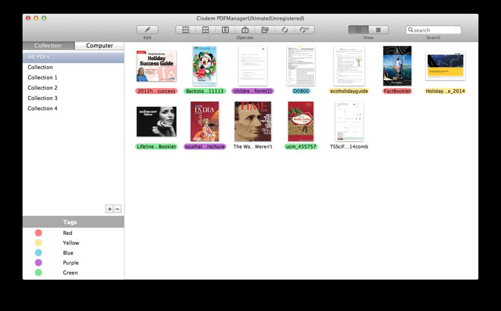 Cisdem PDFManagerUltimate for Mac Screenshot 7