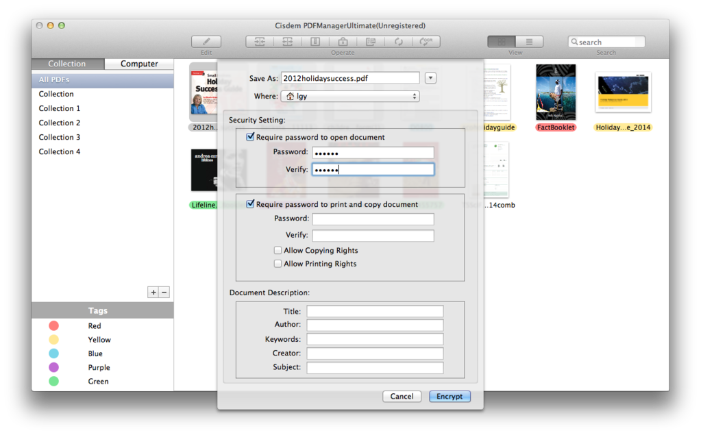Cisdem PDFManagerUltimate for Mac Screenshot 5