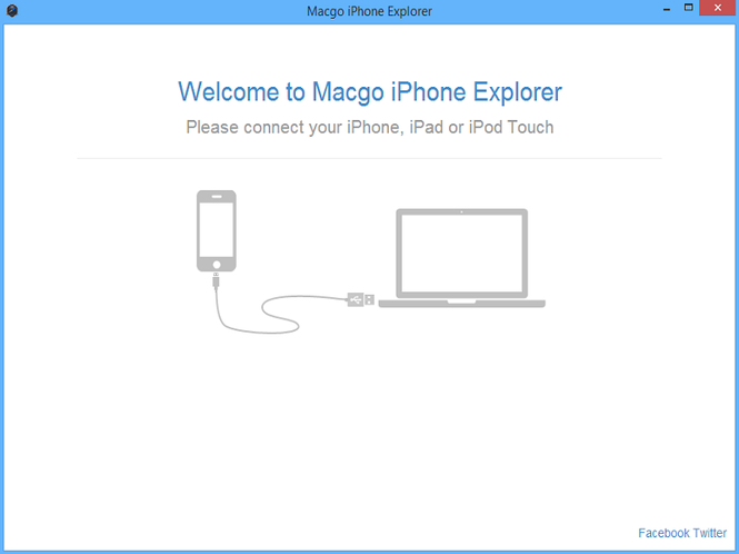 Macgo Free iPhone Explorer Screenshot