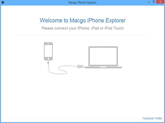 Macgo Free iPhone Explorer Screenshot 1