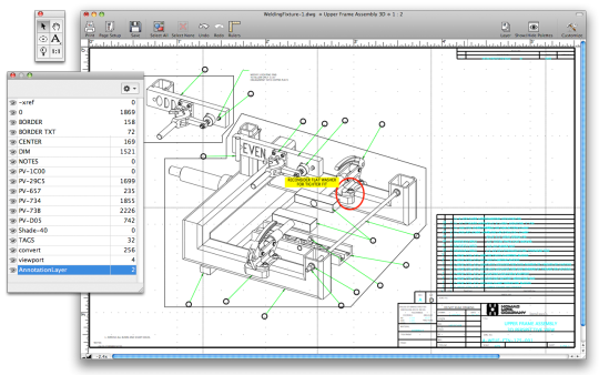Microspot DWG Viewer Screenshot