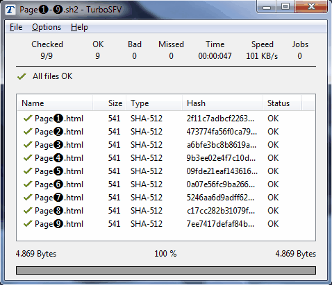 TurboSFV x86 Screenshot