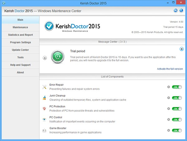 Kerish Doctor 2015 Screenshot