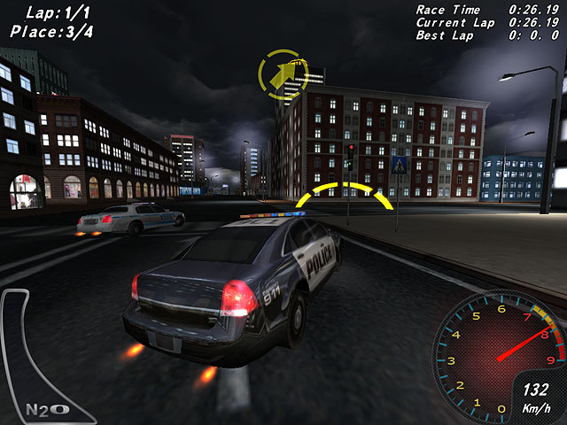 Crazy Police Racers Screenshot
