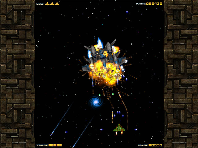 Last Space Fighter Screenshot 1