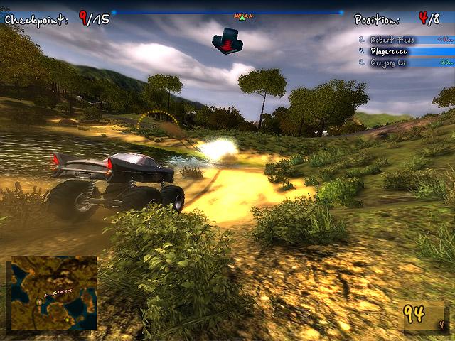 Monster Truck Safari Screenshot 1