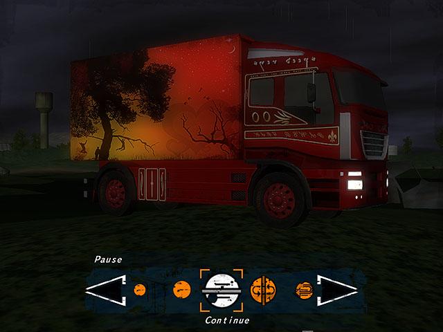 Night Truck Racing Screenshot