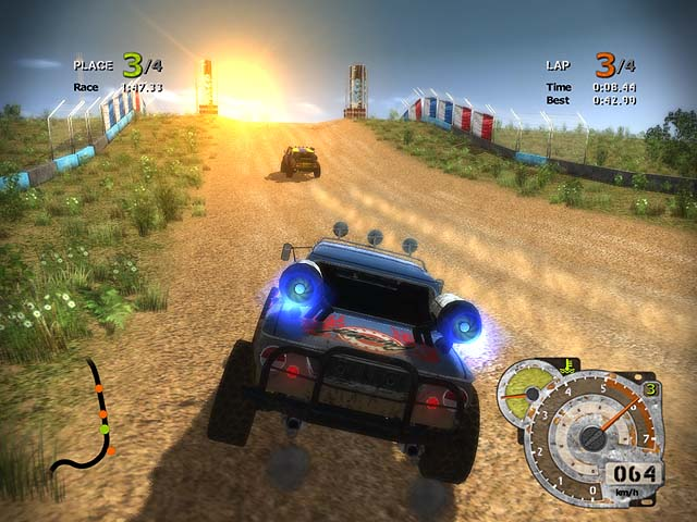 Turbo Rally Racing Screenshot 1