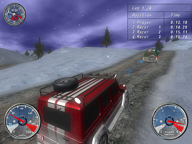 Winter Extreme Racers Screenshot 1