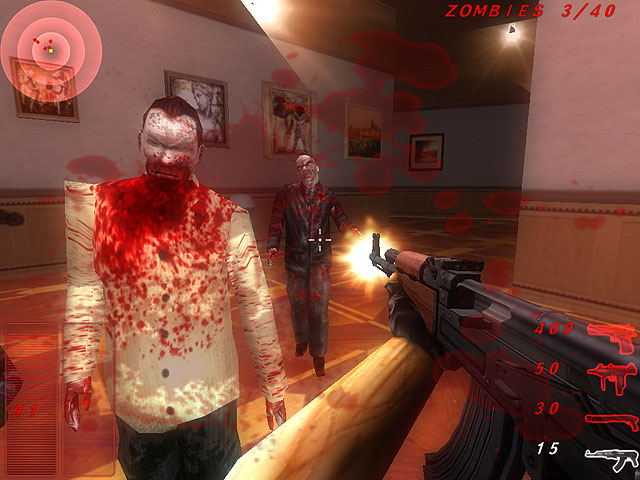 Zombie Outbreak Shooter Screenshot