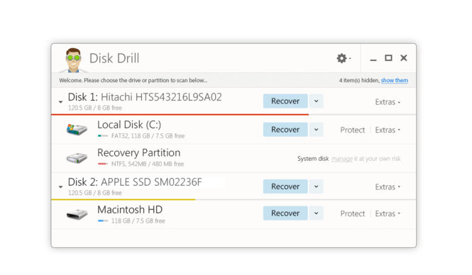 Disk Drill for Windows Screenshot 1