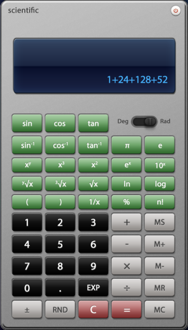Free Jetico Scientific calculator Screenshot