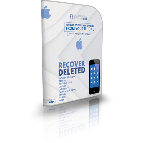 SmartPhone Recovery PRO for iOS (ER210) Screenshot 1