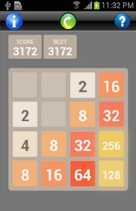 2048 Puzzle Screenshot
