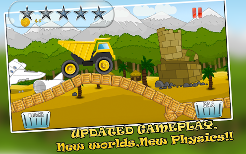 Speedy Truck : Hill Racing Screenshot 1