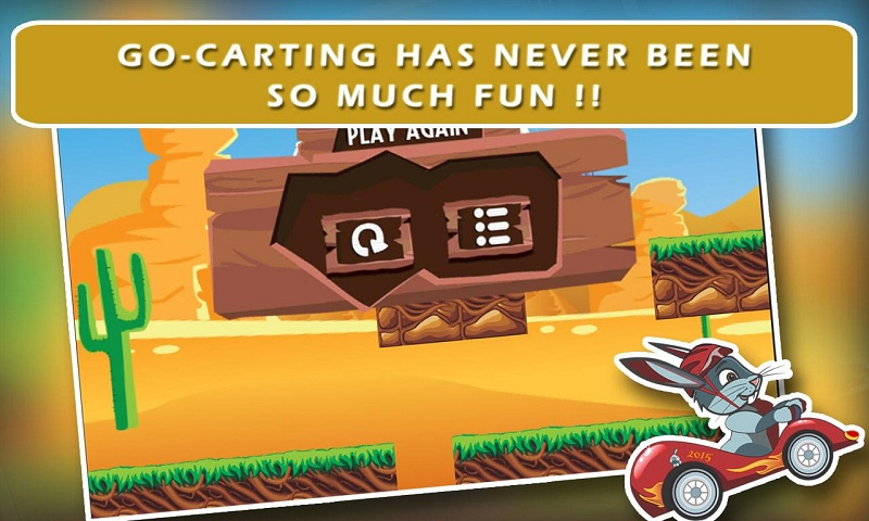 Ace Bunny Turbo Go-kart Race Screenshot 4
