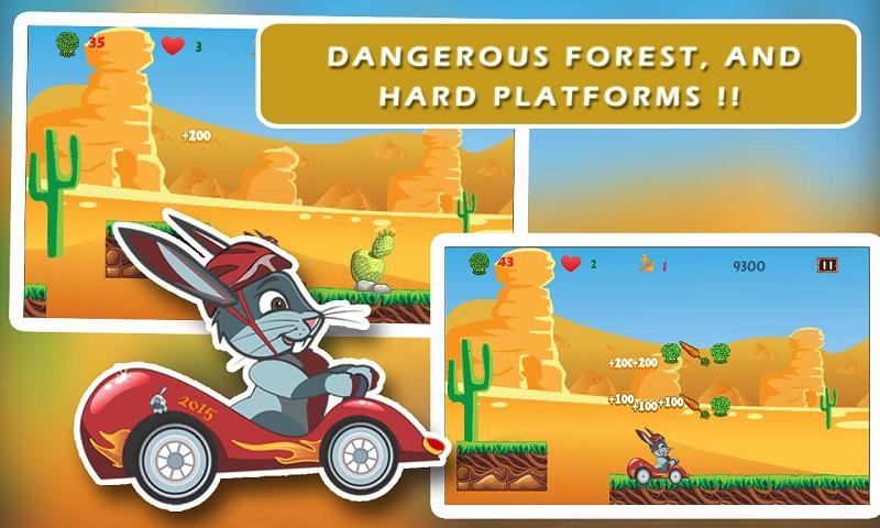 Ace Bunny Turbo Go-kart Race Screenshot 2