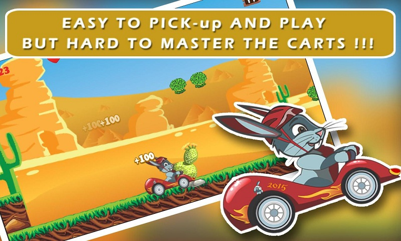 Ace Bunny Turbo Go-kart Race Screenshot 3