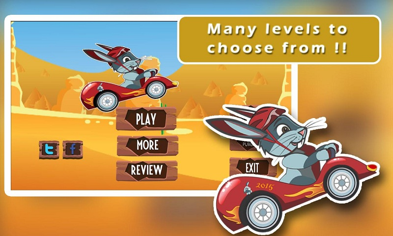 Ace Bunny Turbo Go-kart Race Screenshot 1