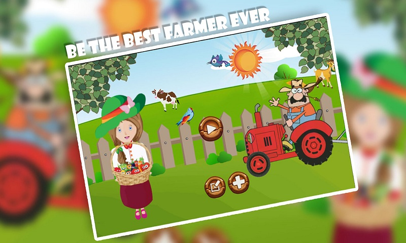Jolly Little Farm Girl Screenshot 2