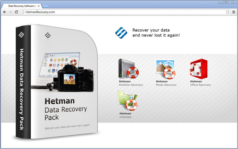 Hetman Data Recovery Pack - Data Recovery Software from HDD, USB, Memory Card Screenshot 1