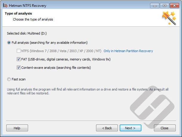 Hetman NTFS Recovery Screenshot 5