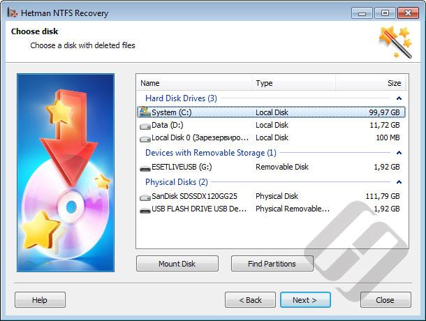 Hetman NTFS Recovery Screenshot 6