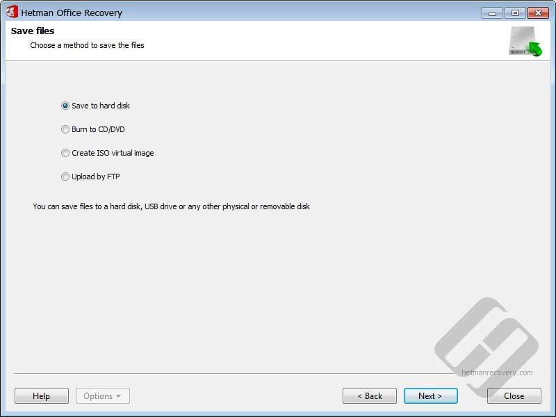 Hetman Office Recovery Screenshot 6