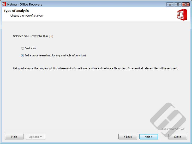 Hetman Office Recovery Screenshot 2